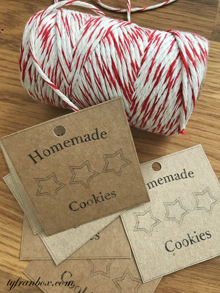cookies labels homemade